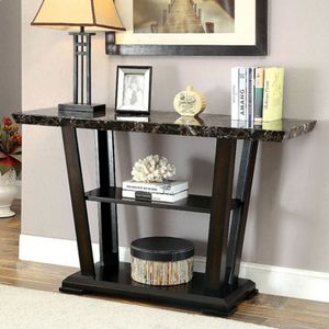Faux marble console table for Sale in Las Vegas, NV