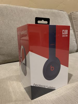 Navy Blue Beats Solo 3 Wireless Headphones for Sale in Santa Clara, CA