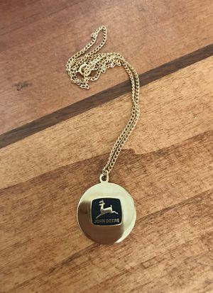 John Deere Necklace for Sale in Colorado Springs, CO