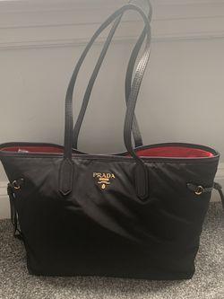 Authentic Prada Nylon Vella Side-cinch Shoulder Bag for Sale in St. Louis,  MO