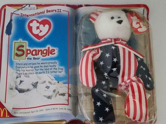 TY International Bears II: Spangle The Bear Unopened for Sale in Chicago,  IL