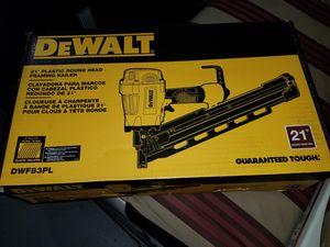 Dewalt nail air gun brand new in box for Sale in Winter Springs, FL