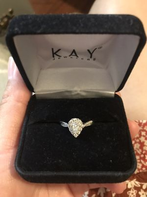 Engagement ring 14k white gold for Sale in Jurupa Valley, CA