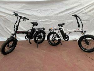 Electric Bike Fat Tire Folding Ebike 750w for Sale in Chino, CA