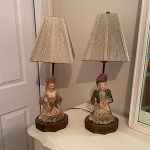 Antique Lamps With New Shades for Sale in Columbia, SC