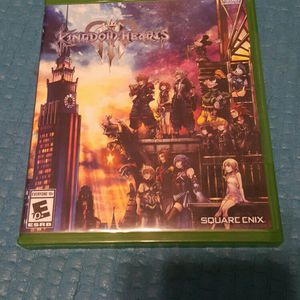 Kingdom Of Hearts 3 Mint Condition With Mini Posters For Xbox for Sale in Queens, NY