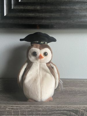 Class of 98 owl beanie baby (RARE + Vintage ) for Sale in Fuquay-Varina, NC