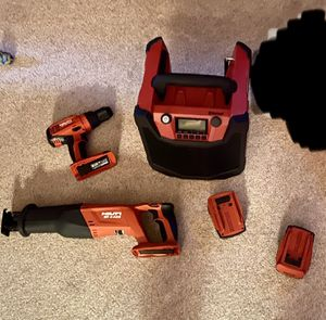 Hilti Cordless Power Tool Bundle value over $1000 for Sale in Kill Devil Hills, NC