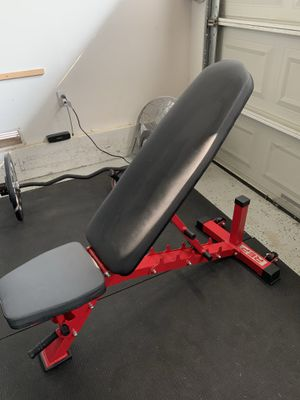 Rep Fitness AB-3100 Adjustable Bench RED for Sale in La Puente, CA