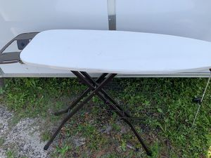 Nice quality ironing board with iron stand. Pick up in Jupiter. for Sale in Jupiter, FL