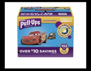 Pull ups huggies 4t-5t new never open 102ct for Sale in Allentown, PA