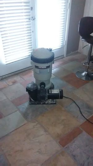 HAYWARD PUMP & FILTER SYSTEM for Sale in Glendale, AZ