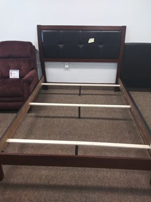 Queen bed frame and slats for Sale in Lexington, KY
