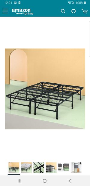King size 14 inch platform bed frame.. BRAND NEW..can deliver for Sale in Euclid, OH
