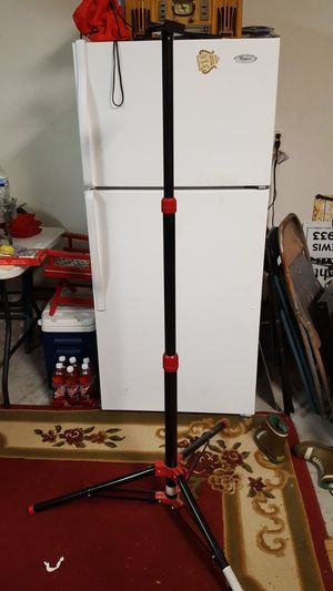 Red/black tripod for Sale in Virginia Beach, VA