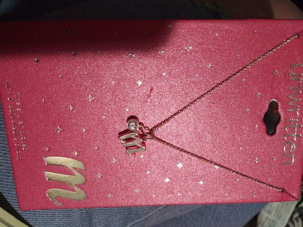 "Unwritten ""Scorpio"" necklace"