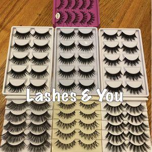 70 eyelashes 35 pairs Lashes for Sale in Santa Ana, CA