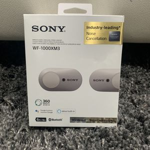 Sony True Wireless Noise Cancelling Headphones *UNOPENED* for Sale in Glendale, CA