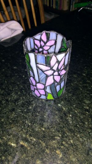 Handmade glass vase for Sale in Seaford, DE