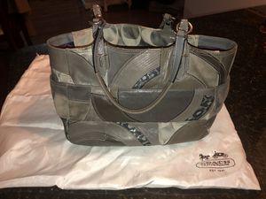 Grey Coach Purse for Sale in Arlington, VA