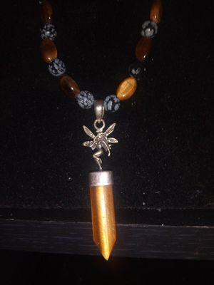 Handmade OOAK stone necklace for Sale in Jacksonville, FL