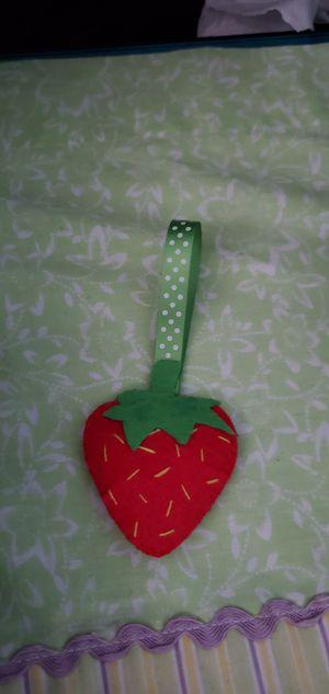 Handmade felt strawberry keychain for Sale in Albuquerque, NM