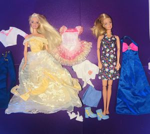 Barbie's and clothes for Sale in Garland, TX