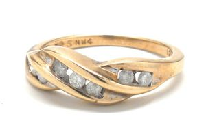 Ladies Diamond/10K Gold Engagement Ring for Sale in Norfolk, VA