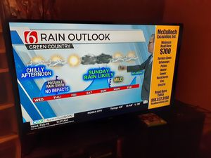 """43"""" ONN 4K TV need to sell ASAP for Sale in Tulsa, OK"""