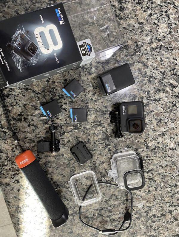 GoPro Hero 8 Black w/ accessories