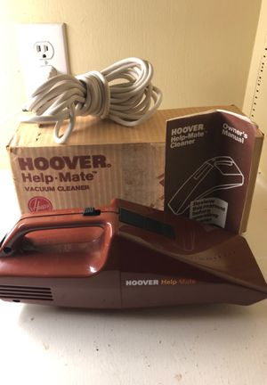 Vintage Hoover S1059 Help Mate Handheld Car Detail Vacuum Cleaner made in USA for Sale in Garland, TX