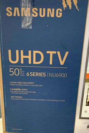 Samsung TV television is brand new with one year warranty!! Open Box! 50 inch WF for Sale in Houston, TX