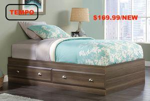 Twin Storage Bed, Diamond Ash for Sale in Santa Fe Springs, CA