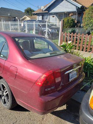 Honda civic 2002 manual for Sale in Oakland, CA