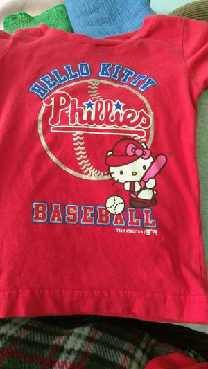Philadelphia Phillies hello Kitty t-shirt for Sale in Westville, NJ
