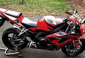 Stupefying frantic red/black 2007 Honda 1000 rr motorcycle for Sale in Baton Rouge, LA