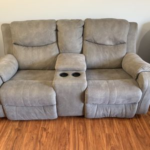 Two Seater Recliner Couch w/storage for Sale in Centreville, VA