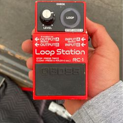 Boss RC -1 Loop Station for Sale in Los Angeles,  CA