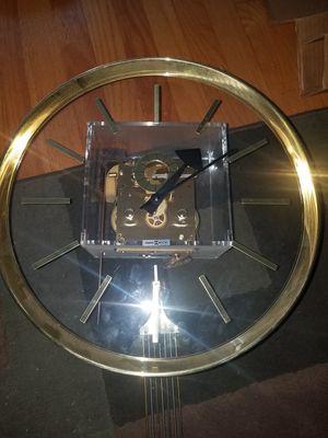 Howard miller wall clock for Sale in Norridge, IL