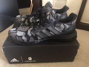 Bape ultraboost black size 9 for Sale in Fairfax, VA
