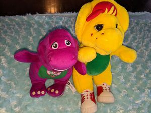 Barney and BJ Plushes for Sale in Tacoma, WA