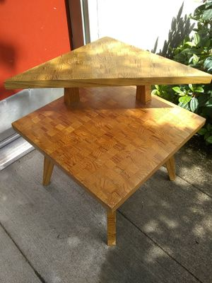 Handmade MCM table for Sale in Portland, OR