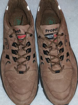 Mens Sz 13 PRO'PET COMFY SHOCK ABSORBER WALKING SHOES. THESE COST &90 NEW! for Sale in Perris, CA