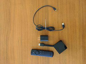Fire TV w/4K Ultra HD & 1st Gen Alexa Voice Remote for Sale in Seattle, WA