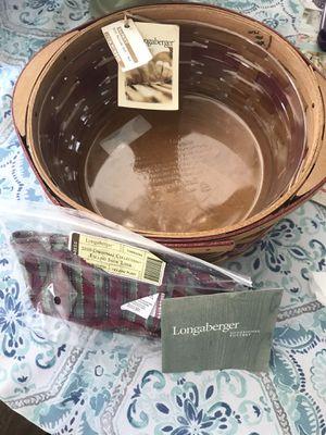 Longaberger Medium 2010 Snowflake Basket Set for Sale in Middle River, MD