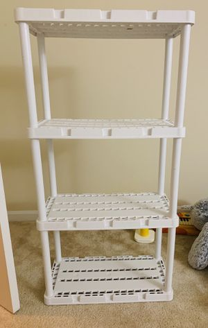 4 Rack Strong Shelves -move out sale for Sale in Northbrook, IL