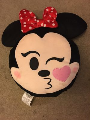 Disney Minnie Mouse head pillows for Sale in Philadelphia, PA