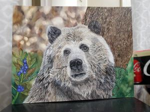 Bear Drawing- original artwork for Sale in Wetumpka, AL