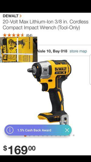 Dewalt 3/8 Impact Wrench for Sale in Austell, GA