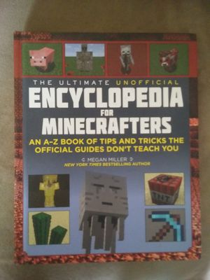 Large Minecraft Books in good condition *were each $10 or more when purchased* (all 6 for $12 total) for Sale in BRECKNRDG HLS, MO